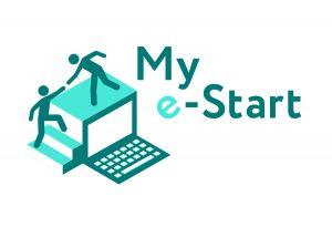 My e-Start logo