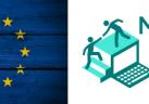 My e-Start & EU logos